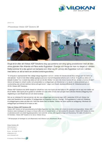 Virtuell rundtur och presentation av anläggningen på Arlanda.