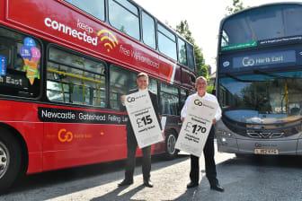 Summer saving fares - Martijn Gilbert and Cllr Gannon.jpg