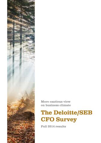 The Deloitte/SEB CFO Survey Fall 2014
