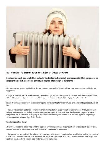Når danskerne fryser boomer salget af dette produkt