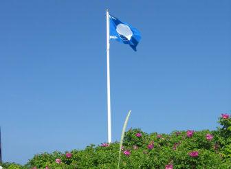 Blå flagg