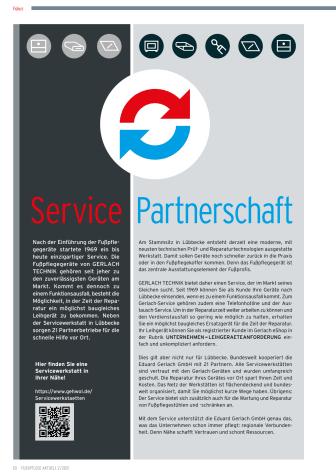 Service Partnerschaft