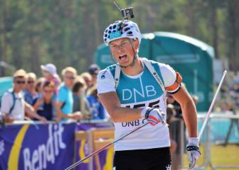 NM rulleskiskyting 2015 sprint Henrik L'Abée-Lund