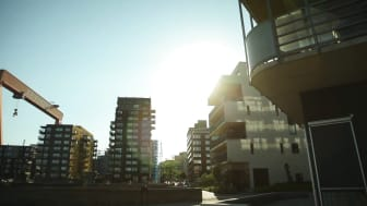 Källehöjden på Hisingen i Göteborg - Nybyggda villor och parhus