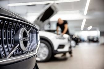 Verkstad Bilia Volvo
