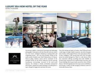 Hotel Tylösand utsett till Sveriges mest luxuösa havsnära hotell
