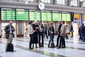 Grupp resenärer