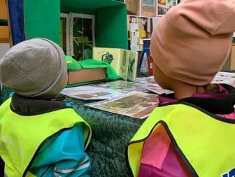 Inspirerade av lekutställning - Utställning Grön