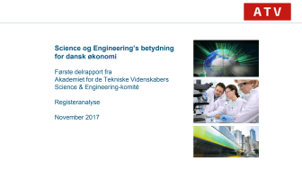 Delrapport 1: Science og Engineerings betydning for dansk økonomi