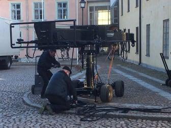Filminspelning i Skara