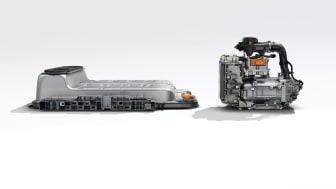 Nya Renault ZOE 50 kW batteri och elmotor