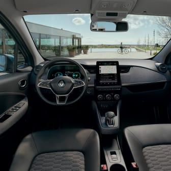 Nya Renault ZOE interiör
