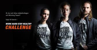 Work Hard Stay Healthy Challenge