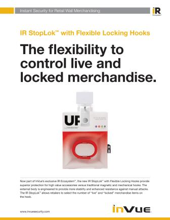 Varularm från Gate Security - InVue Flexible Locking Hook