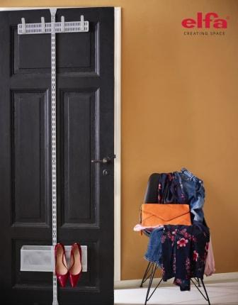 Elfa_förvaring bakom en dörr_door and wall rack