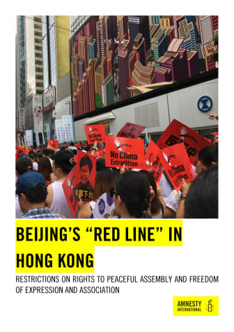 Hongkong: Regeringen måste undersöka polisvåld och stå emot Pekings påtryckningar