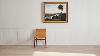Carl Fredrik Hill, Trädet och flodkröken_Important Winter Sale