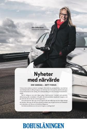 Bohusläningen Journalist Ida