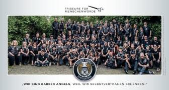 Flyer Barber Angels Brotherhood e.V. Deutschland 2019