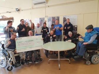 Cerebral Palsy Midlands receive donation from The Cadbury Foundation