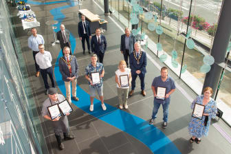 Mayor welcomes Mid and East Antrim's High Street Heroes