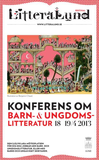 Konferensprogram LitteraLund Festival 18-19 april 2013
