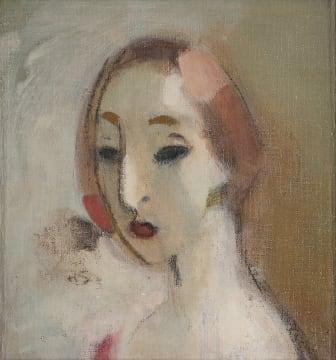 """Helene Schjerfbeck, """"Ung kvinna"""". Utrop 4 000 000 - 4 500 000 SEK."""