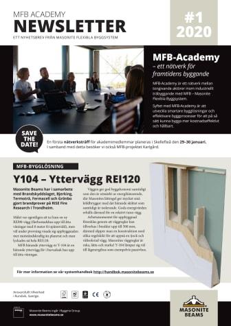 MFB Academy Newsletter #1 2020