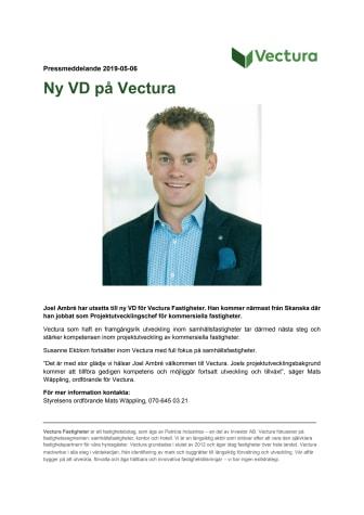Ny VD på Vectura