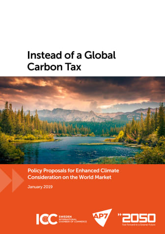 Instead of a global carbon tax