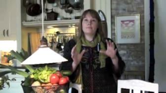 Kristina Nilsson - mottagare av Skånes Livsmedelsakademis stipendie 2009