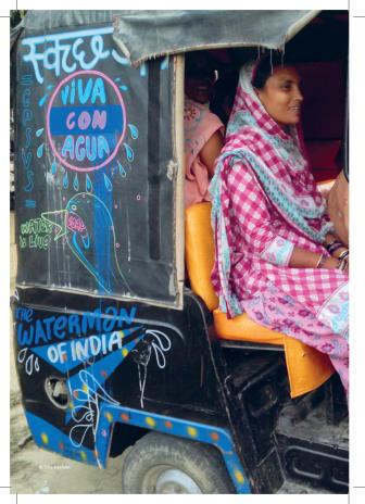 Hintergrundinterview: VIVA CON AGUA MIT DEM WATERMAN OF INDIA AUF DER INDIA WEEK IN HAMBURG 2. BIS 8. NOVEMBER