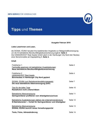 Tipps und Themen 2-2018