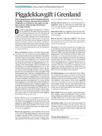 Piggdekkavgift i Grenland