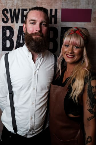 Nadia Jakobsson, Butcher's Crook Göteborg med modell
