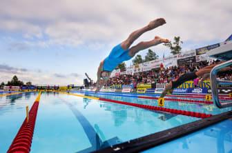 SM-veckan i Halmstad - simning