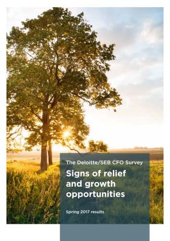The Deloitte/SEB CFO Survey spring 2017