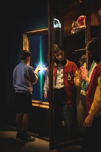 Tidsvalvet på Nordiska museet, en interaktiv upplevelse för barn 8–12 år. Foto: Sofia Jansson/Nordiska museet