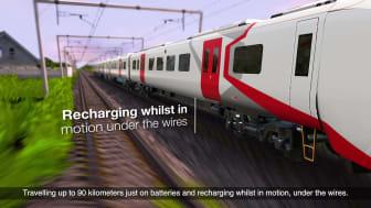 Hitachi Rail Battery Trains