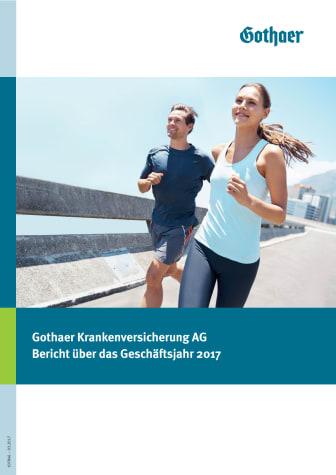 Gothaer Krankenversicherung AG: Bericht über as Geschäftsjahr 2017