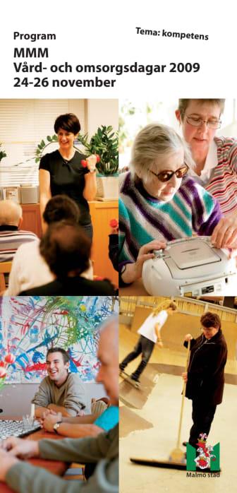 Program för vård- och omsorgsdagarna i Malmö