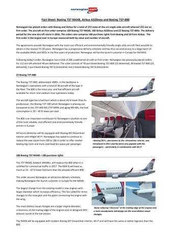NEO-MAX Fact Sheet