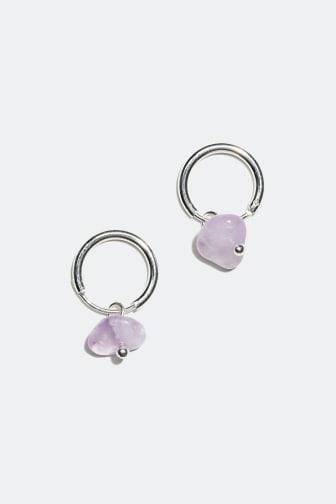 Earrings with semi precious stones - 69,90 kr