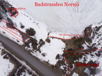 Badstranden Norsjö