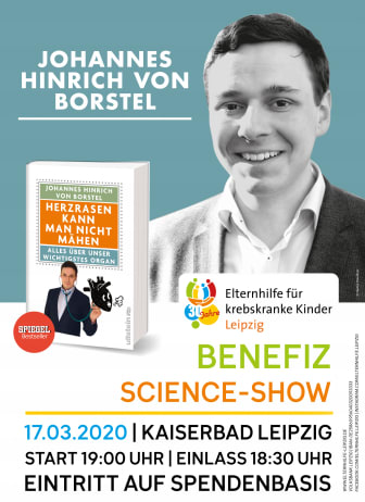 Plakat Science-Show