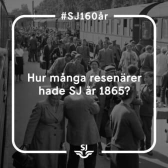 SJ 160 - Resenärer