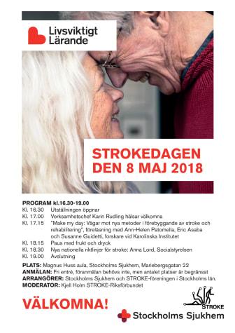 Strokedagen 2018 - Inbjudan