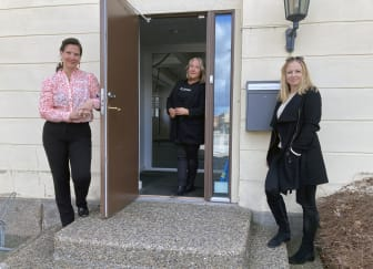Nina Andersson, Marjut Petersson och Jola Follin Noreklev.