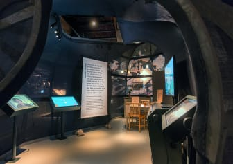 Utställningen Human nature på Etnografiska museet