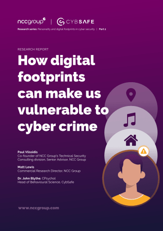 NCC Group: How digital footprints can make us vulnerable to cyber crime